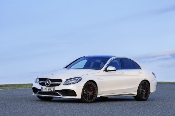 <strong>Mercedes-AMG C 63 2015 </strong>— À partir de 76 600 $ (Photo fournie par Mercedes)