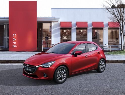 <strong>Mazda2 2016</strong>— Prix non dévoilé (Photo fournie par Mazda)