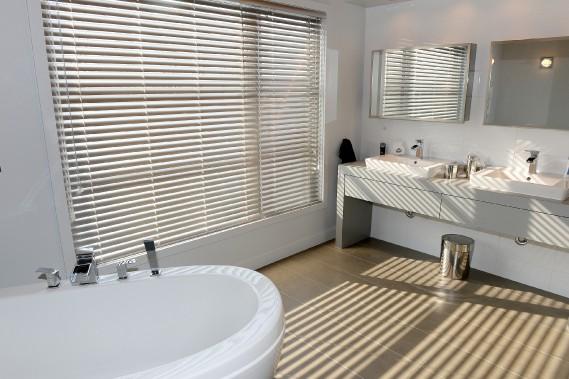 La salle de bains attenante à la chambre des propriétaires (Le Soleil, Erick Labbé)