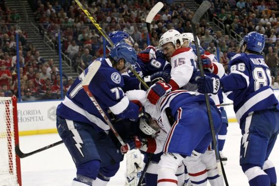 La rivalité est bien installée entre les deux équipes. (Photo Kim Klement, USA TODAY Sports)