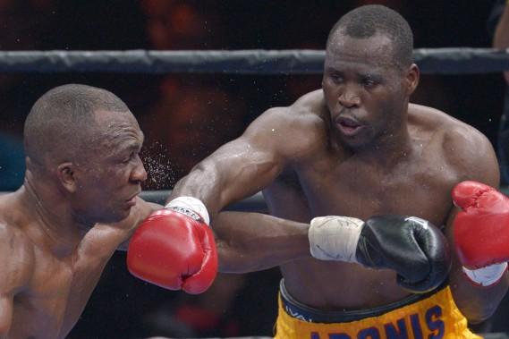Stevenson a dû traverser 12 rounds avant de remettre la main sur sa ceinture. (Le Soleil, Yan Doublet)
