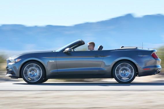 Ford Mustang cabriolet: un secret (encore) bien gardé