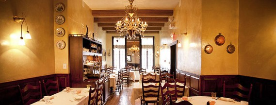 Le restaurant Vetri. (Vetri restorante)