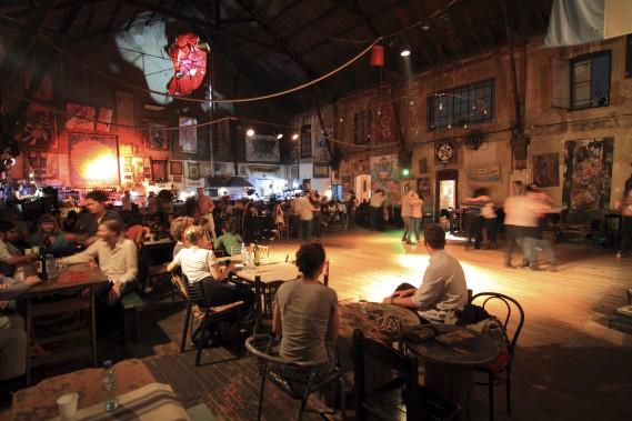 La Catedral du tango, un ancien hangar converti en vaste plancher de danse. (Collaboration spéciale Marc Tremblay)