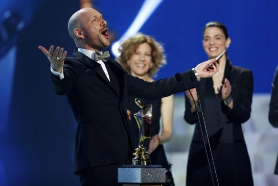 Martin Matte,gagnant du prix Artis pour le role masculin dans une comédie québécoise (PHOTO OLIVIER JEAN, LA PRESSE)