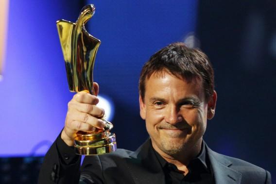 Claude Legault, gagnant du prix Artis pour le rôle masculin dans une téléserie québécoise (Olivier Jean)