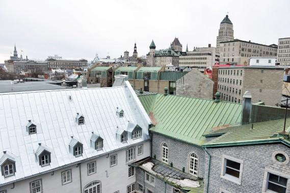 Le Monastère des Augustines offre un oasis de tranquilité en plein coeur du Vieux-Québec. (Le Soleil, Jean-Marie Villeneuve)