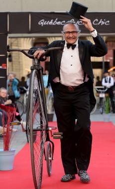 Pierre Bernier alias Piero Vélo (Le Soleil, Erick Labbé)