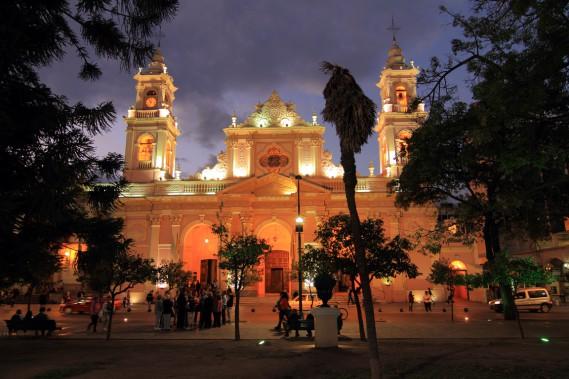 La cathédrale baroque de Salta (Photo Marc Tremblay)