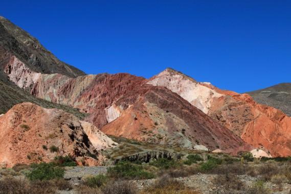 Le Cerro de los Siete Colores (la montagne des Sept Couleurs). (Photo Marc Tremblay)