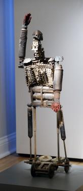<em>Pichnotchet</em>, 1990. Matériaux récupérés, collection de l'artiste (Le Soleil, Jean-Marie Villeneuve)
