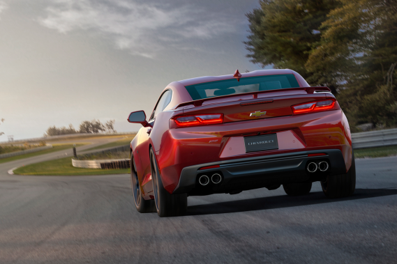 La Chevrolet Camaro SS 2016 (Photo fournie par Chevrolet)