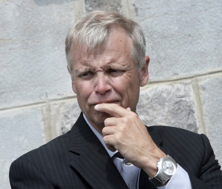 François Gagnon, journaliste sportif à RDS (Le Soleil, Jean-Marie Villeneuve)