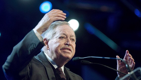 Jacques Parizeau le 2 mars 2013 (Archives La Presse Canadienne)