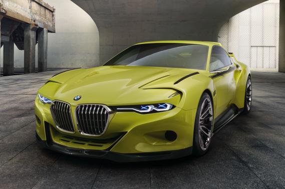 La BMW 3.0 CSL (Photo fournie par BMW)