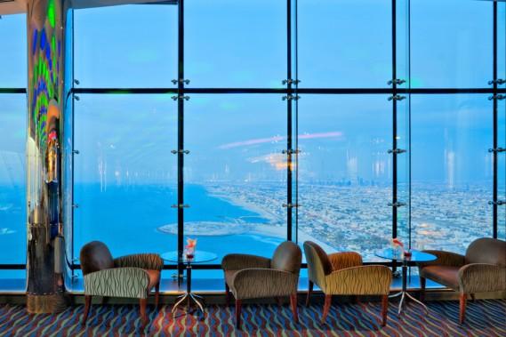 Le Skyview Bar. (PHOTO FOURNIE PAR JUMEIRAH)