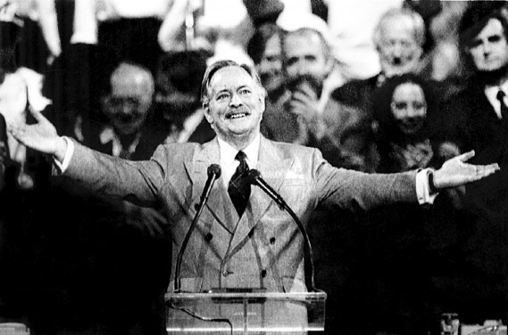Jacques Parizeau le 26 octobre 1992 à Montréal (Archives Reuter)