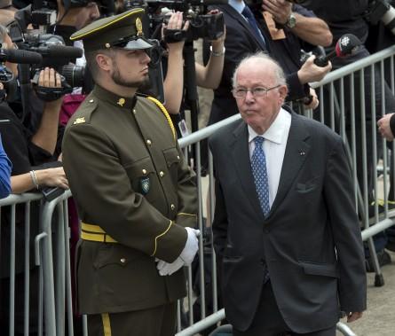 L'ancien premier ministre péquiste Bernard Landry (La Presse Canadienne)
