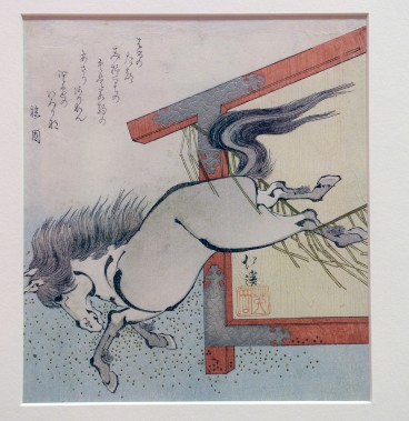 <em>Un cheval s'échappe</em> deTotoya Hokkei (Le Soleil, Jean-Marie Villeneuve)