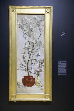 <i>Nature morteaux azalées et fleurs de pommiers</i>, Charles Caryl Coleman, 1878 (Le Soleil, Jean-Marie Villeneuve)