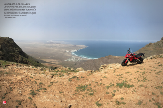 Depuis quelques années, <em>Le Guide de la moto</em> donne aux lecteurs un aperçu des endroits visités par l'auteur Bertrand Gahel à l'occasion de ses essais routiers. Les décors sont à couper le souffle, comme en font foi les photos retenues dans la section Atlas. (Image fournie par les Guides motocyclistes)