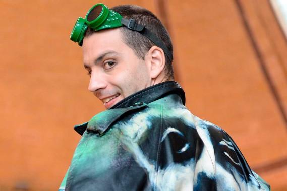 Memet Bilgin est le seul Canadien de la troupe Spiegelworld (Le Soleil, Erick Labbé)