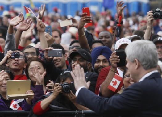 Le premier ministre Stephen Harper (Simon Séguin-Bertrand, LeDroit)