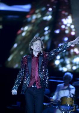 Mick Jagger et les Rolling Stones sur les Plaines (Le Soleil, Jean-Marie Villeneuve)