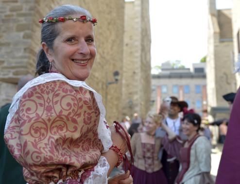 Gisèle Bourdeau, présidente des fêtes de la Nouvelle-France (Le Soleil, Yan Doublet)
