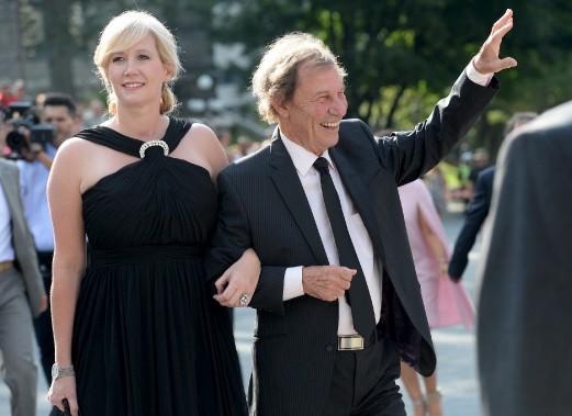 Jean-Pierre Ferland et sa conjointe (Le Soleil, Erick Labbé)