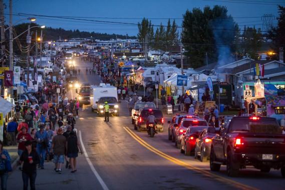 Chaque année, Saint-Tite accueille environ 600 000 visiteurs pendant le Festival western. (Photo: Olivier Croteau, Le Nouvelliste)