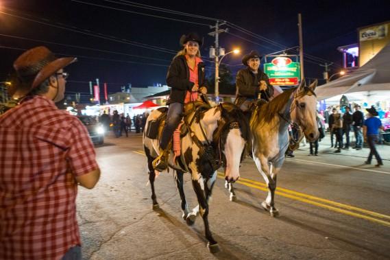 Les chevaux sont rois à Saint-Tite. (Photo: Olivier Croteau, Le Nouvelliste)
