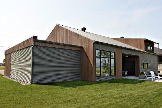 Une maison inspir e par le paysage maritime mich le - Construction maison sans sous sol ...