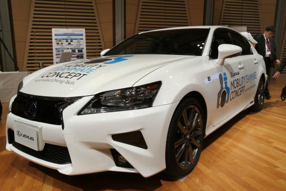 Toyota dévoile sa voiture autonome