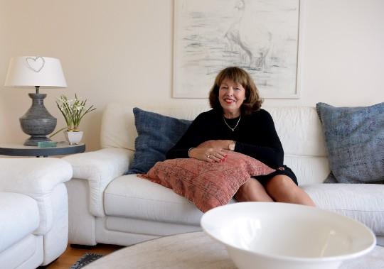 Lynn Paradis, membre de l'Association des femmes entrepreneures de Québec, a lancé Blancrème il y a deux ans. ()