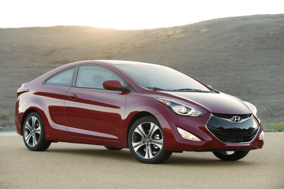 Hyundai Elantra Coupé Sport (Photo fournie par Hyundai)