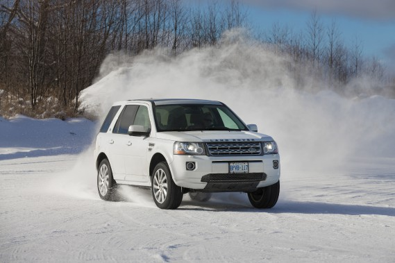 Land Rover LR2 (Photo fournie par Land Rover)