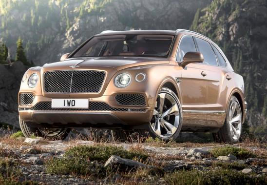 <strong>Bentley Bentayga - Prix non dévoilé</strong> Dévoilé sous le nom EXP 9F au printemps 2012, le constructeur britannique propose son VUS qui sera le plus rapide au monde et le plus cher - pour le moment... (Photo fournie par Bentley)