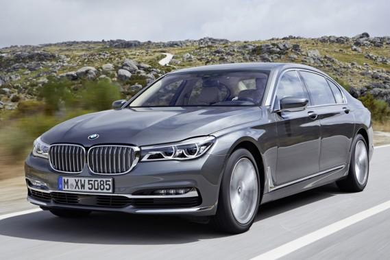 <strong>BMW Série 7 - À partir de 105 000 $ (estimation)</strong> La grande berline de BMW bénéficiera des technologies des matériaux composites, de sorte qu'elle sera plus légère de près de 100 kilogrammes. (Photo fournie par BMW)