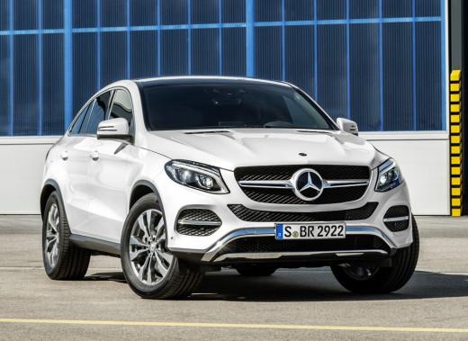 <strong>Mercedes GLE — À partir de 72 300 $ (Coupé)</strong> L'ancienne Classe ML de Mercedes devient maintenant GLE avec la refonte des nomenclatures de la marque. (Photo fournie par Mercedes)
