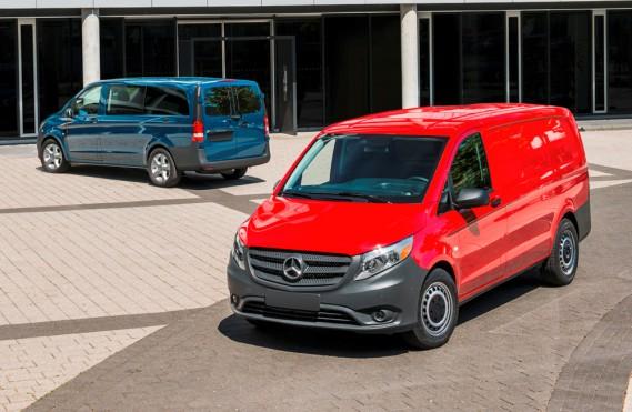 <strong>Mercedes Metris — À partir de 33 900 $</strong> Le constructeur entre dans ce marché émergent des fourgons compacts. Une version cargo ainsi qu'une pour le transport de passagers sont offertes. (Photo fournie par Mercedes)