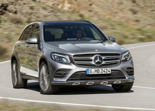 <strong>Mercedes GLC - À partir de 50 000 $ (estimation)</strong> La refonte des nomenclatures chez Mercedes a amené une mise à jour du modèle GLK, qui laisse de côté ses lignes très carrées auxquelles on était habitués. (Photo fournie par Mercedes)
