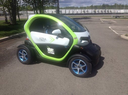 <strong>Renault Twizy — À partir de moins de 16 000 $ (estimation)</strong> Cet étrange véhicule tout-électrique est maintenant distribué par le Réseau Azra au Canada. Il fait partie de la catégorie des véhicules à basse vitesse. (Photo fournie par le Réseau Azra)