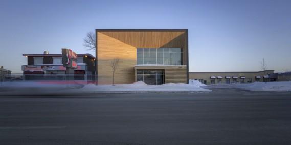 STGMArchitectes, 2980, boulevard Sainte-Anne,arrondissement de Beauport, dans la catégorie Construction neuve (Photo Stéphane Groleau)