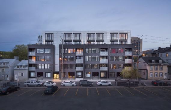 District 03, 520, rue De La Salle, arrondissement de La Cité-Limoilou, dans la catégorie Construction neuve (Photo Stéphane Groleau)