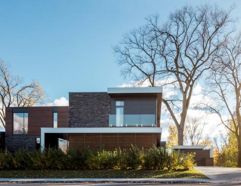 B/G House, 2, avenue des Cascades, arrondissement de Beauport, dans la catégorie Construction neuve (Photo Dave Tremblay)