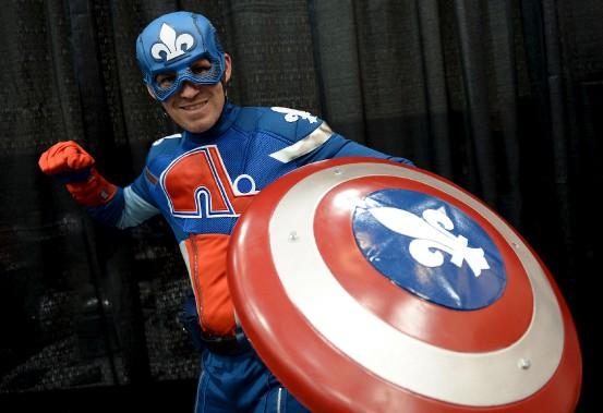 Capitaine...Nordiques? Capitaine Québec? (Le Soleil, Erick Labbé)