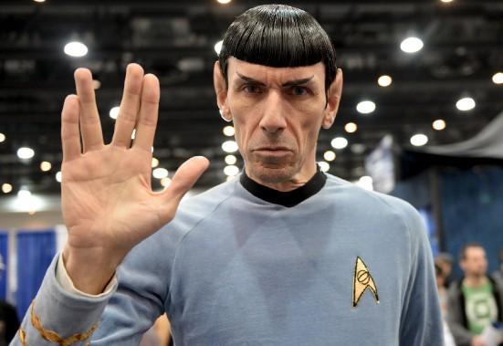 L'expressif M. Spock (Le Soleil, Erick Labbé)