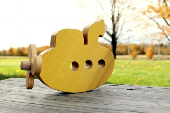 Un sous-marin jaune, comme dans la chanson. Prix suggéré: 28 $ (Photo Stéphanie Meloche)
