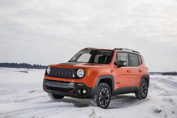 Le Jeep Renegade (Photo fournie par Jeep)